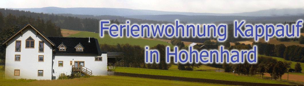 Ferienwohnung Kappauf im Steinwald